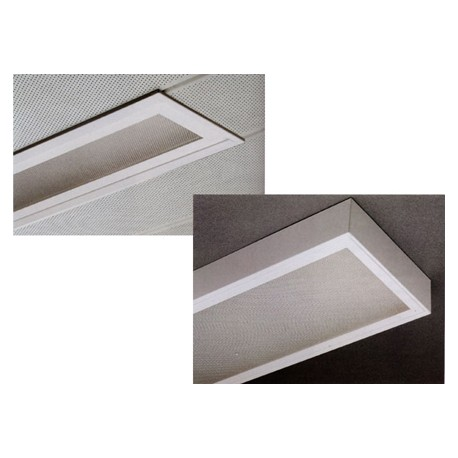 RFP ceiling light with diffuser